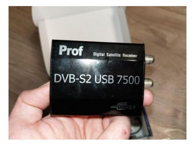 Prof revolution dvb s2 7500 usb