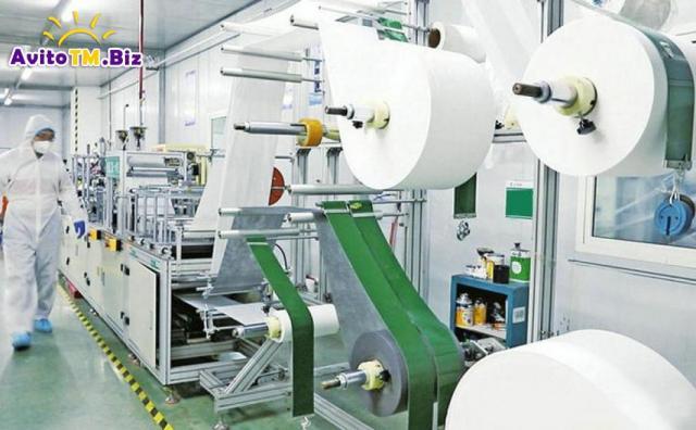 Машина для изготовления масок и перчаток